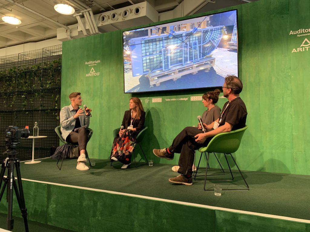 The importance of restoration in circular economy – panel debate at 100% Design 2019